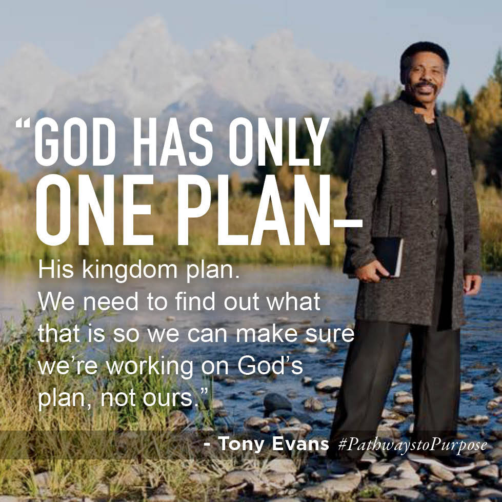 God has only one plan