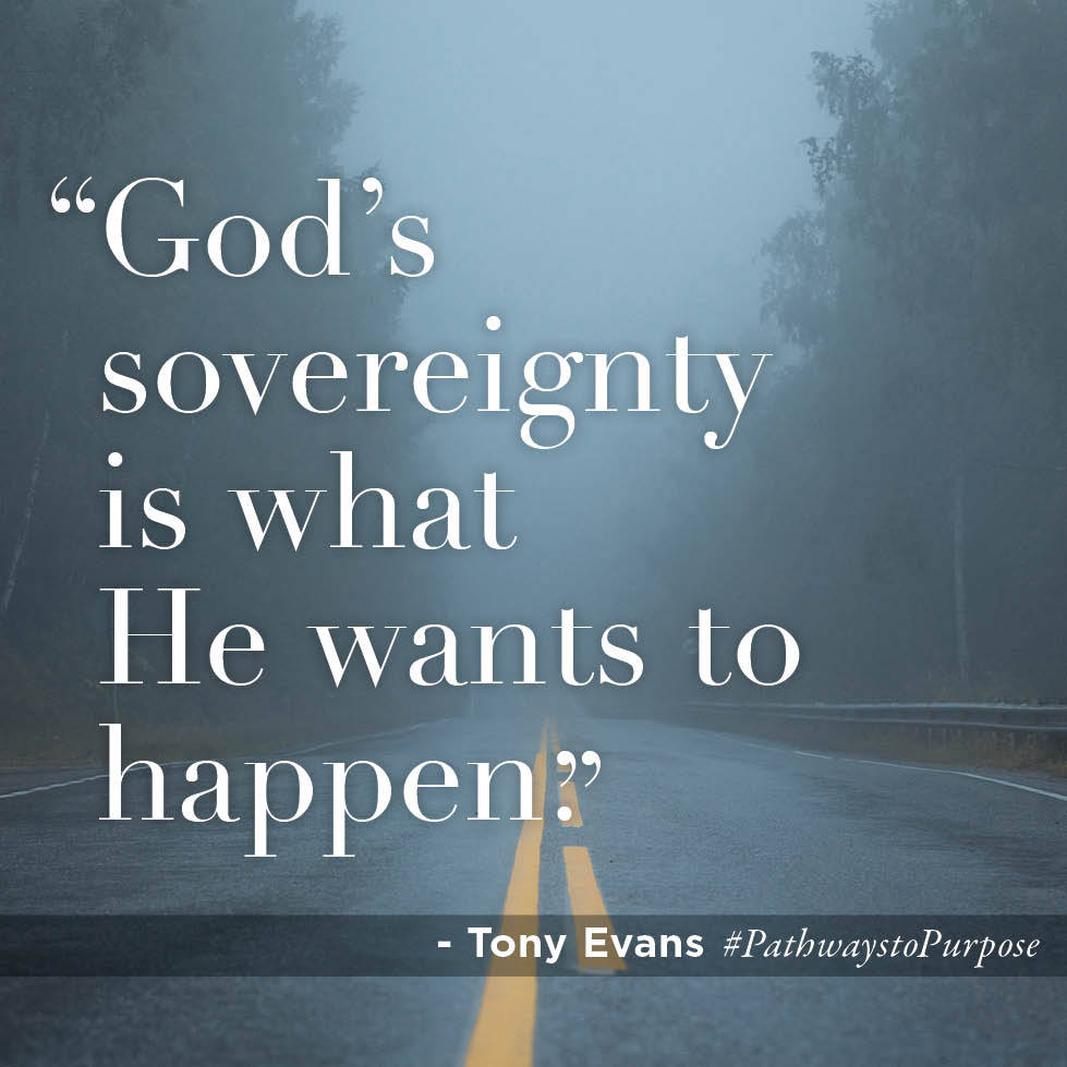 God's sovereignly is what he wants to happen??