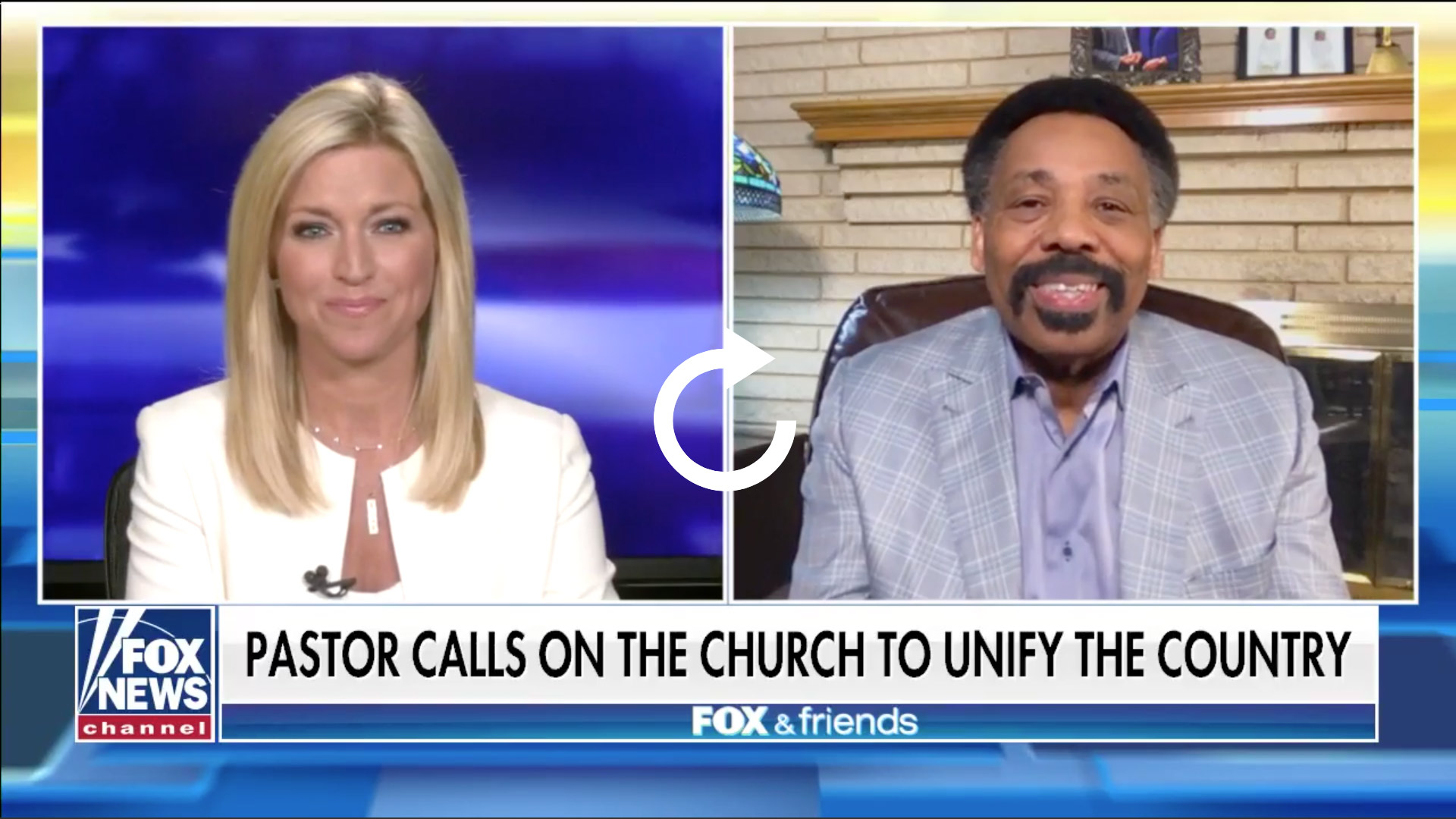 Interview with Tony Evans