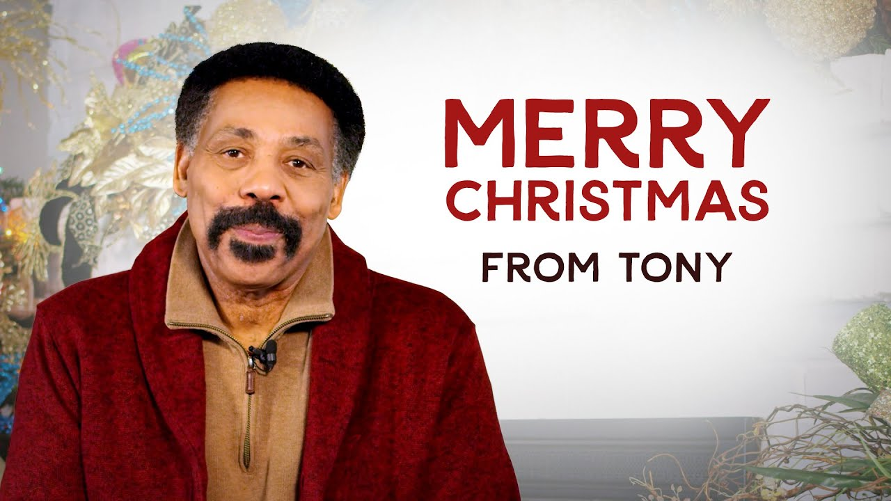 Merry Christmas from Tony Evans