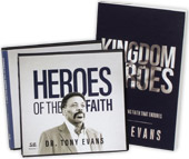 Heroes of the Faith sermon series AND Kingdom Heroes book & Bible study